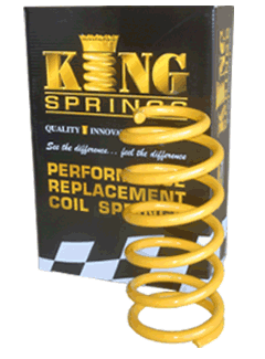 KING'S PERFORMANCE REPLACEMENT COIL SPRINGS